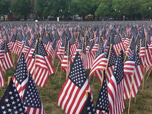 usa  flag  memorial day