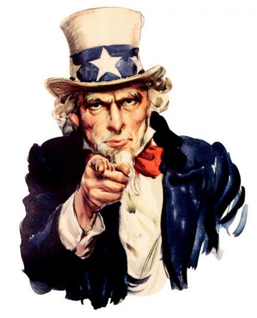 usa uncle sam i want you