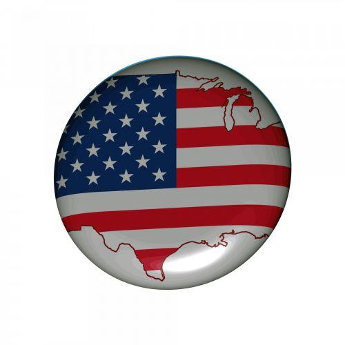 Usa Badge