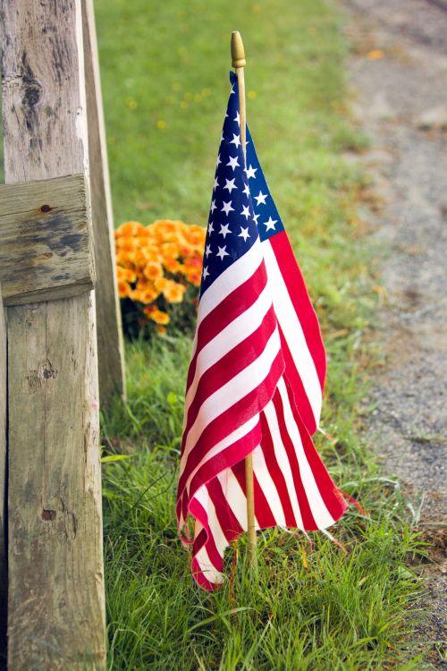 USA Flag Hanging