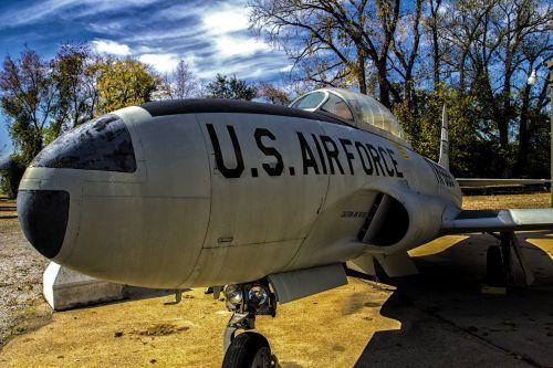 USAF Warplane