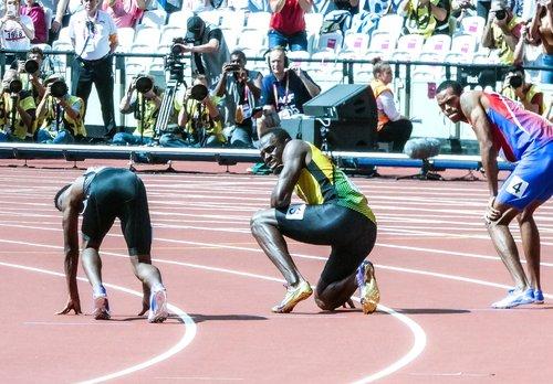 usain bolt  sprint  race