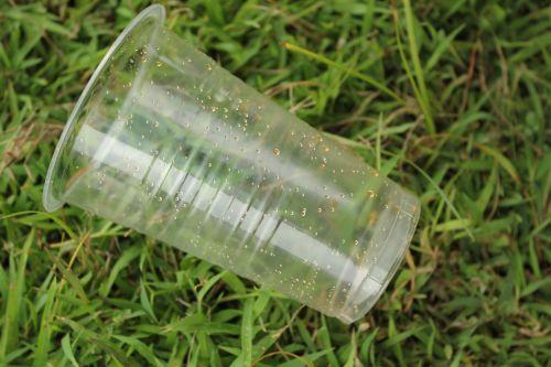 dangtelis, plastmasinis, šiukšlių, žolė, objektas, naudojamas žolės dangtelis
