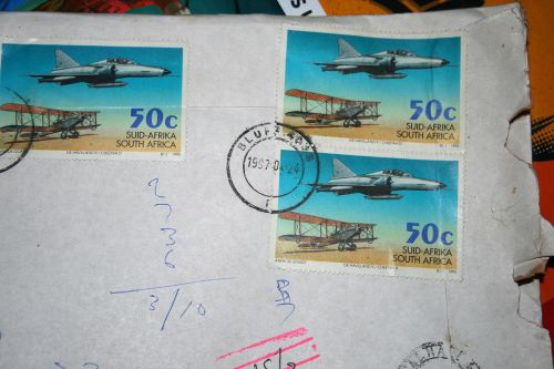 Used South African Stamp