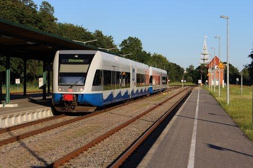 usedomer bäderbahn  deutsche bahn  transport