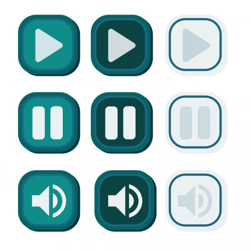 user interface buttons interface