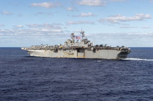 uss bonhomme richard lhd 6 united states navy usn