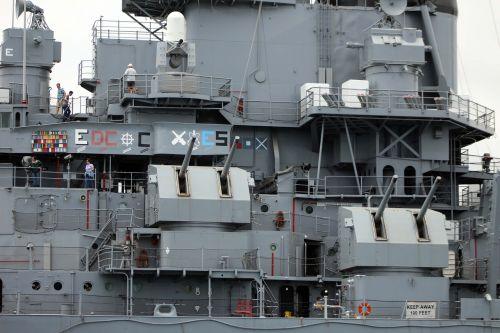 uss iowa harbor battleship