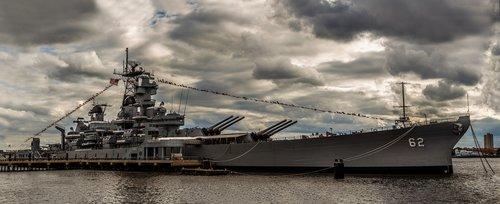 uss new jersey  battleship  warship