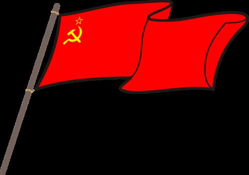 ussr cccp flag