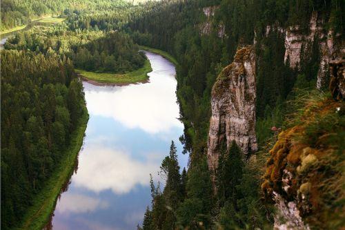 usva mountains river