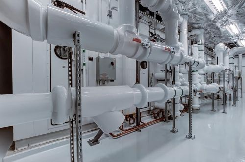 plumbing industry pipes