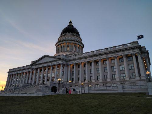 Utah valstijos kapitonas,Utah,valstybinis pastatas,miesto rotušė,Salt Lake miestas