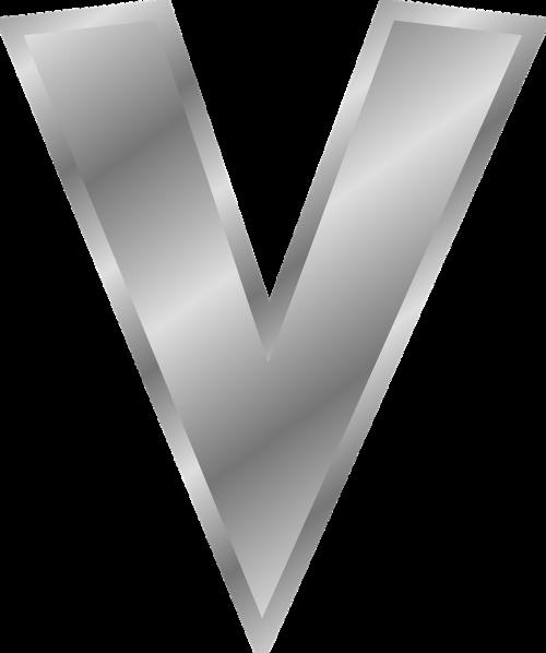 v letter v letter