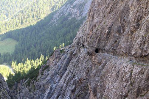 val d'uina alpine mountain landscape