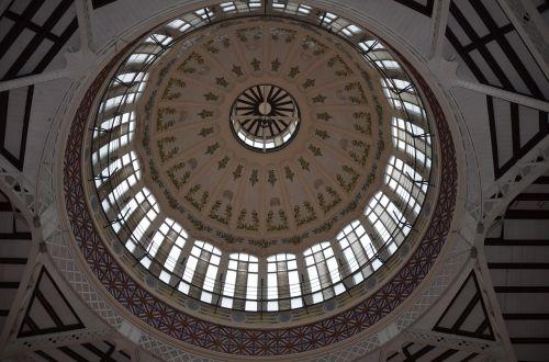 Valensija,centrinė rinka,turgus,kupolas,centrinė valencia,architektūra,grožis