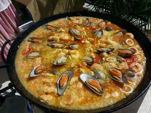 valencian paella paella spanish paella