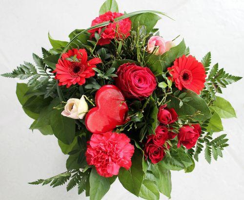 valentin bouquet flowers