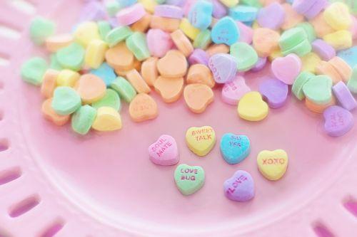 valentine candy hearts conversation
