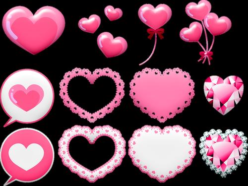 valentine clip art  valentine banner  valentine balloon