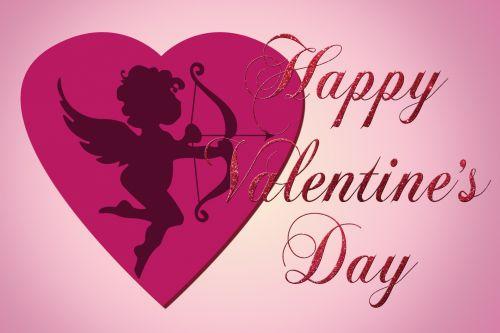 Valentine Cupid Love Heart