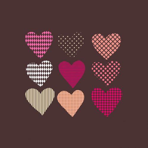 valentine's day hart hand painting