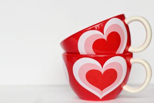 Valentino dienos fonas,Valentino diena,valentine,meilė,širdis,raudona,šventė,romantika,šventė,romantiškas,modelis,simbolis,figūra,vasaris,kava,puodukai,Būk mano,širdies formos puodelis