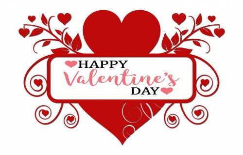 Valentine's Day Banner Frame