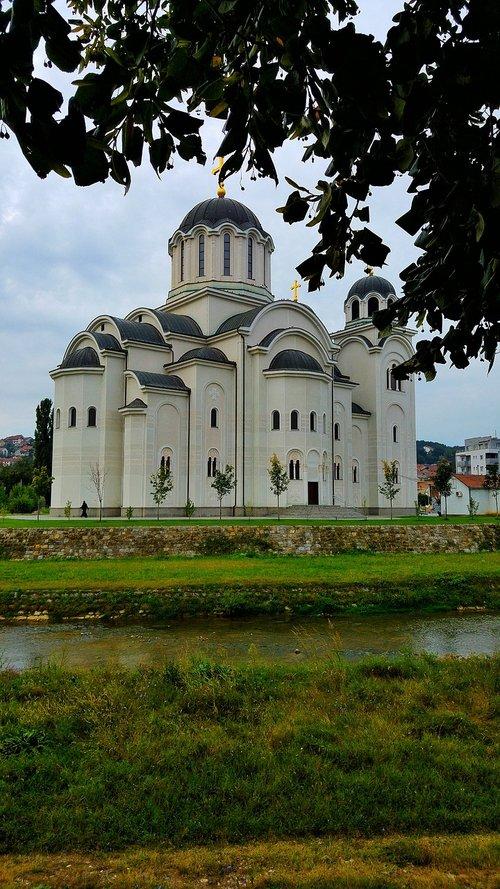 valjevo  serbia  temple