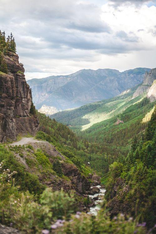valley mountain range