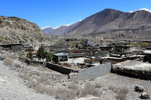 slėnis,kaimas,sausas,kalnas,kaimas,kalnas,kaimas,vaizdingas,dangus,mėlynas