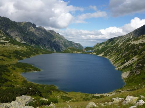 valley of five ponds tatry mountains