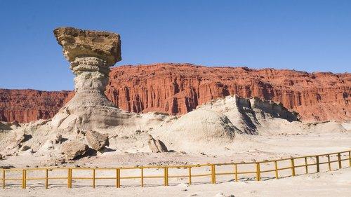 valley of the moon  ischigualasto  san juan argentina