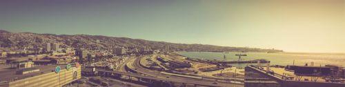 valparaiso panoramic valparaiso port port