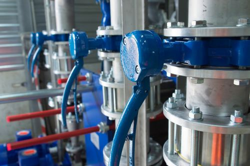 valves pipes industry