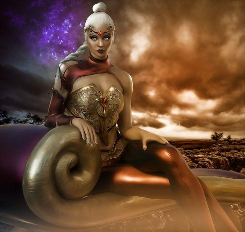 vamp fantasy sci-fi