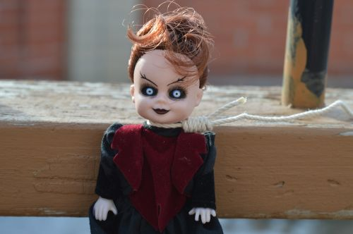 vampire day of the dead doll