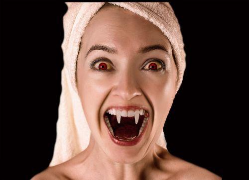 vampire woman croc
