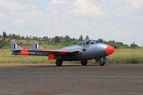 Vampire Jet Aircraft