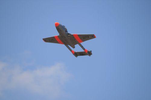Vampire Jet Overhead