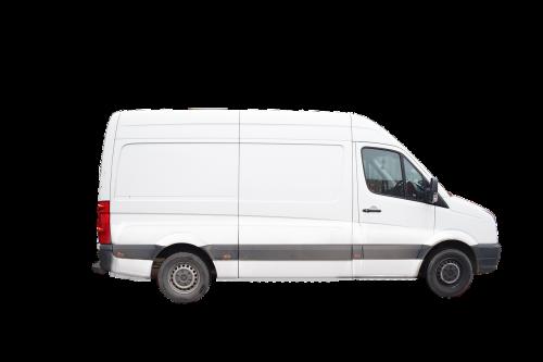 van delivery van vehicle