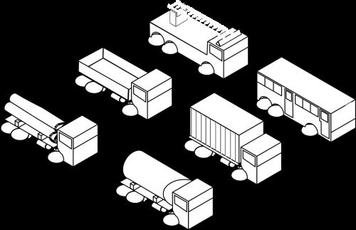van lorry truck