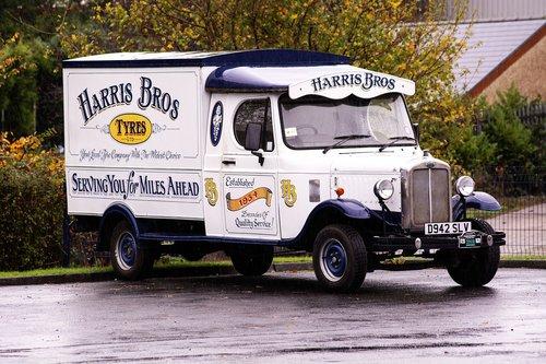 van  advertising  vehicle