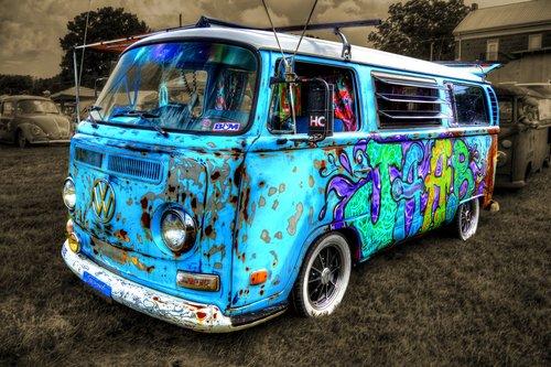van  antique  collectible
