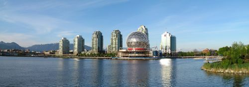 vancouver science world architecture