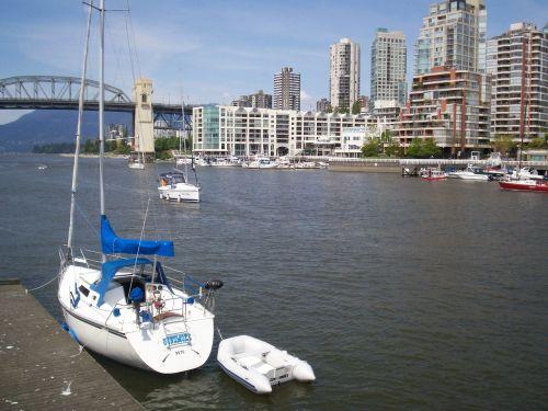 vancouver sailboat british columbia