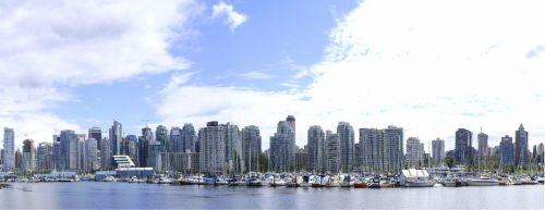 vancouver panorama cityscape