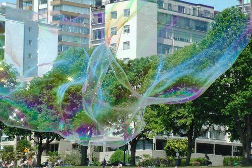 soap bubble enormous vancouver
