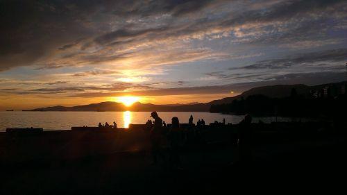 vancouver sunset romance