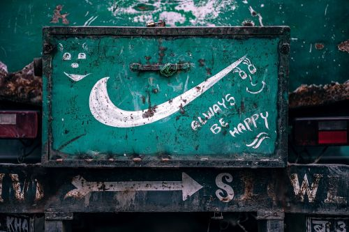 vandal paint green
